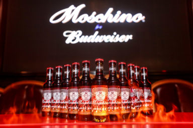 MOSCHINO X BUDWEISER party in Shanghai, Courtesy of Moschino