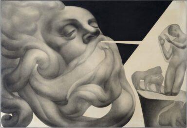 Adolfo Wildt, Animantium Rex Homo, 1925