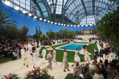 Chanel Spring Summer 2019 Haute Couture Collection, Photo by Olivier Saillant