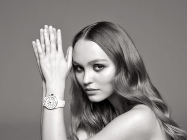 Lily-Rose Depp, wears Chanel J12 timepiece, CHANEL Watches, Courtesy of CHANEL
