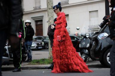 Paris Fashion Week, street looks. Photography by Brando Prizzon