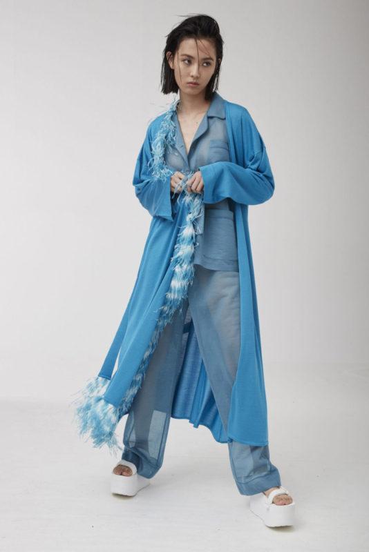 Pyjamas Chic_House Party_quarantine look_safe pretty and natural_Alanui SS20