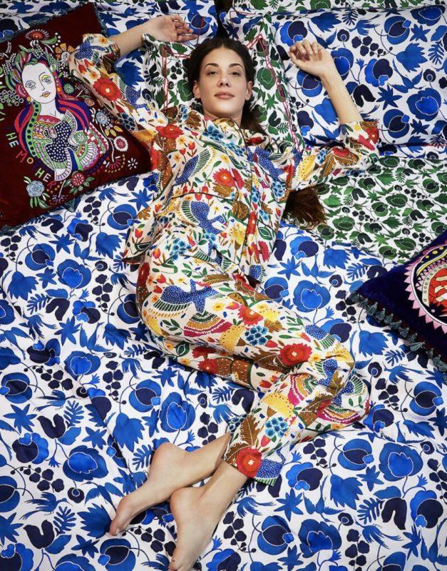Pyjamas Chic_House Party_quarantine look_safe pretty and natural_La Double J