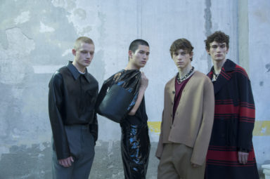 N21 FW 19/20 menswear collection Photo by Pia Opp