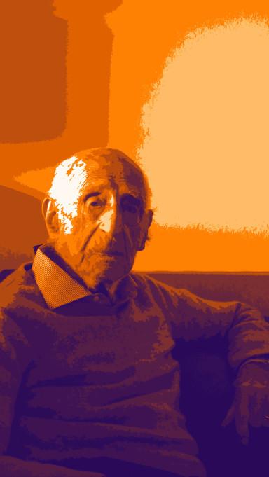Gillo dorfles portrait