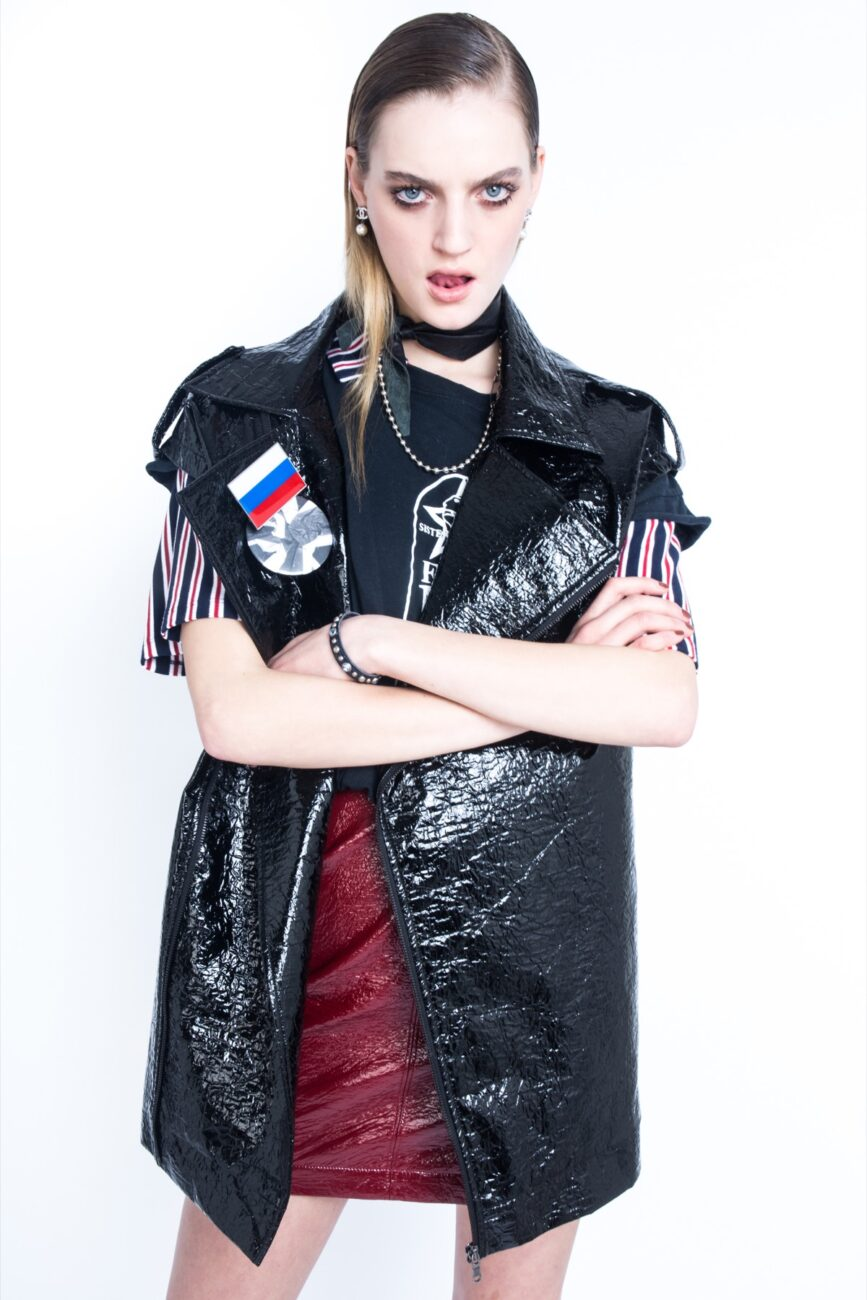 Back to USSR; Featuring Milena Feuerer styled by Riccardo Slavik