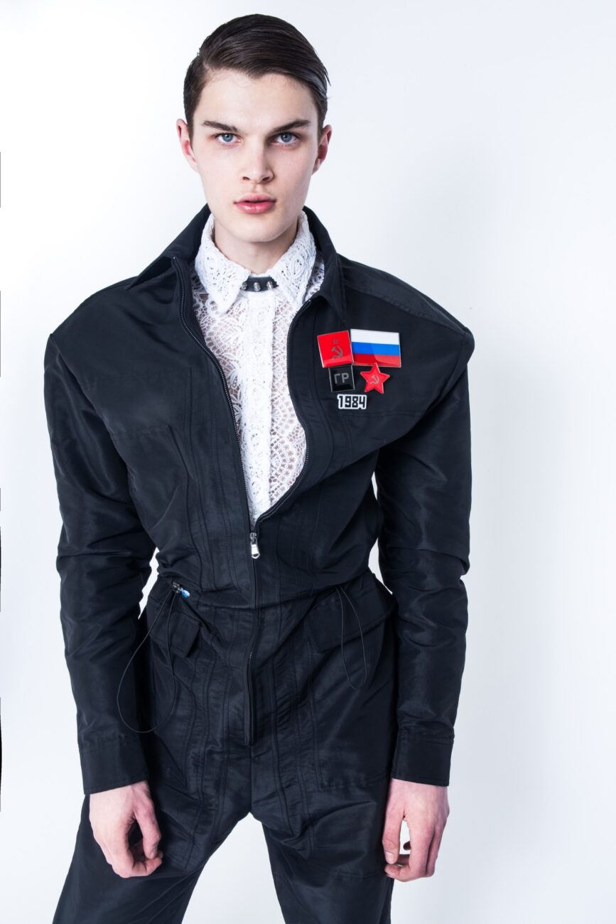 Back to USSR; Featuring Reece styled by Riccardo Slavik