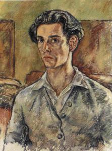 Dario Fo self-portrait