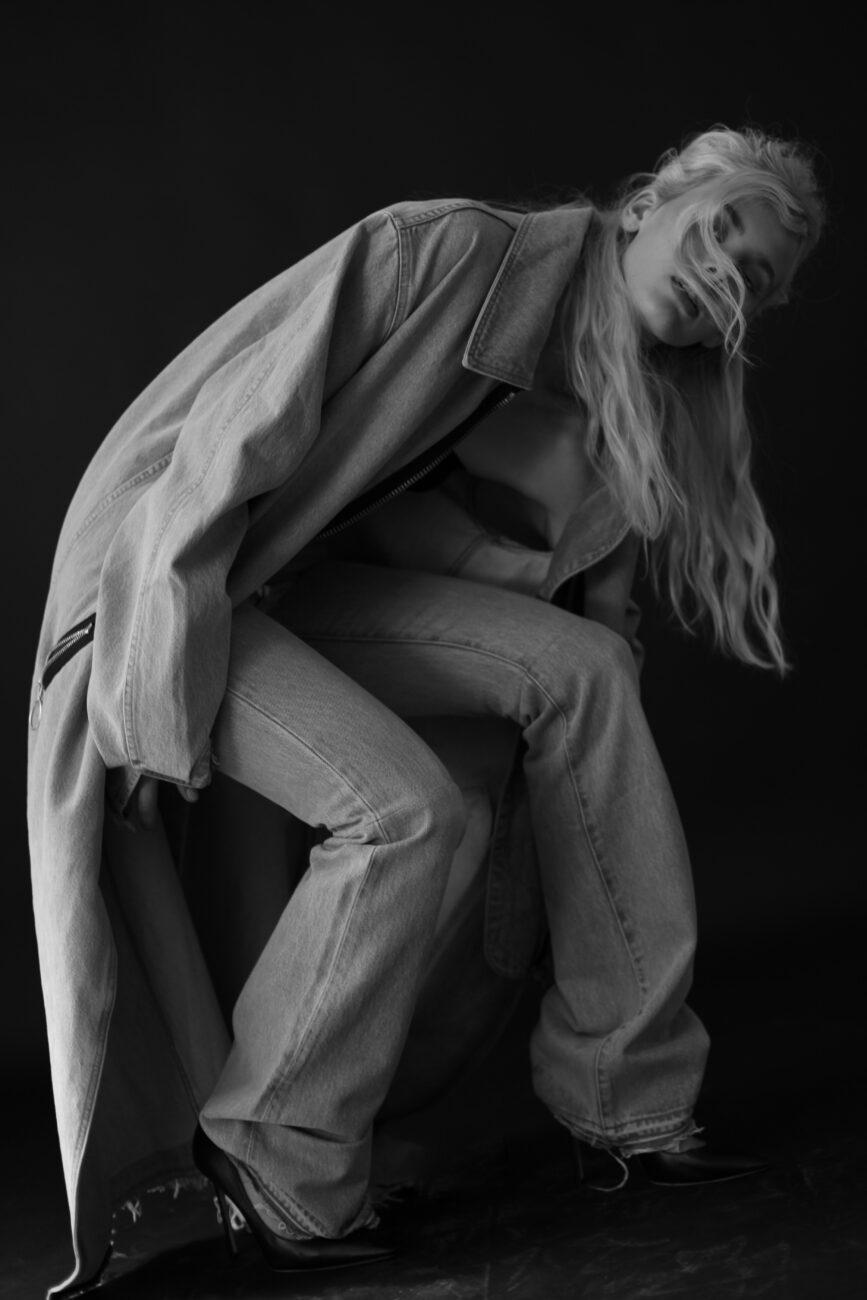 Moa Levi's Made & Crafted x Off White, Virgil Abloh Michela Guasco Omar Machiavelli denim