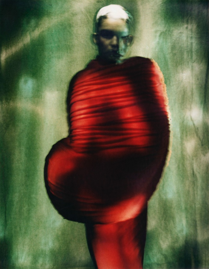 """Rei Kawakubo (Japanese, born 1942) for Comme des Garçons (Japanese, founded 1969), """"Body Meets Dress - Dress Meets Body,"""" spring/summer 1997 Courtesy of The Metropolitan Museum of Art, © Paolo Roversi"""