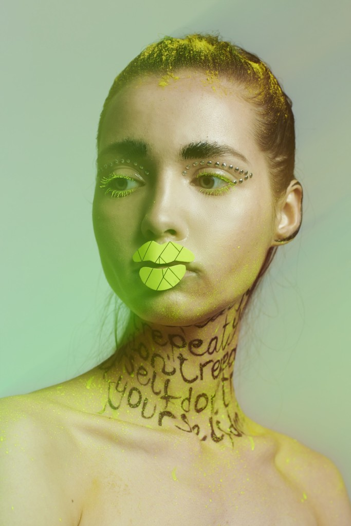 Collectible DRY and Pro*Lab makeup contest. Honorable mention. Makeup by Alessandra Semisa.