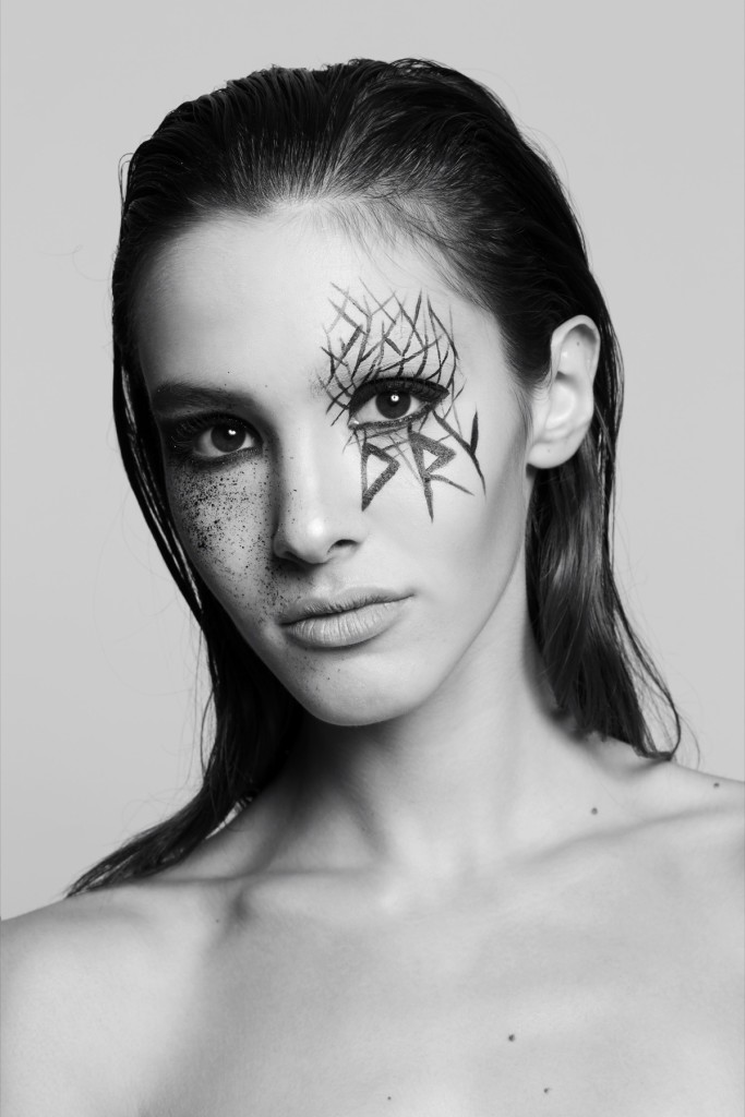 Collectible DRY and Pro*Lab makeup contest. Honorable mention. Makeup by Cristina Andretta.