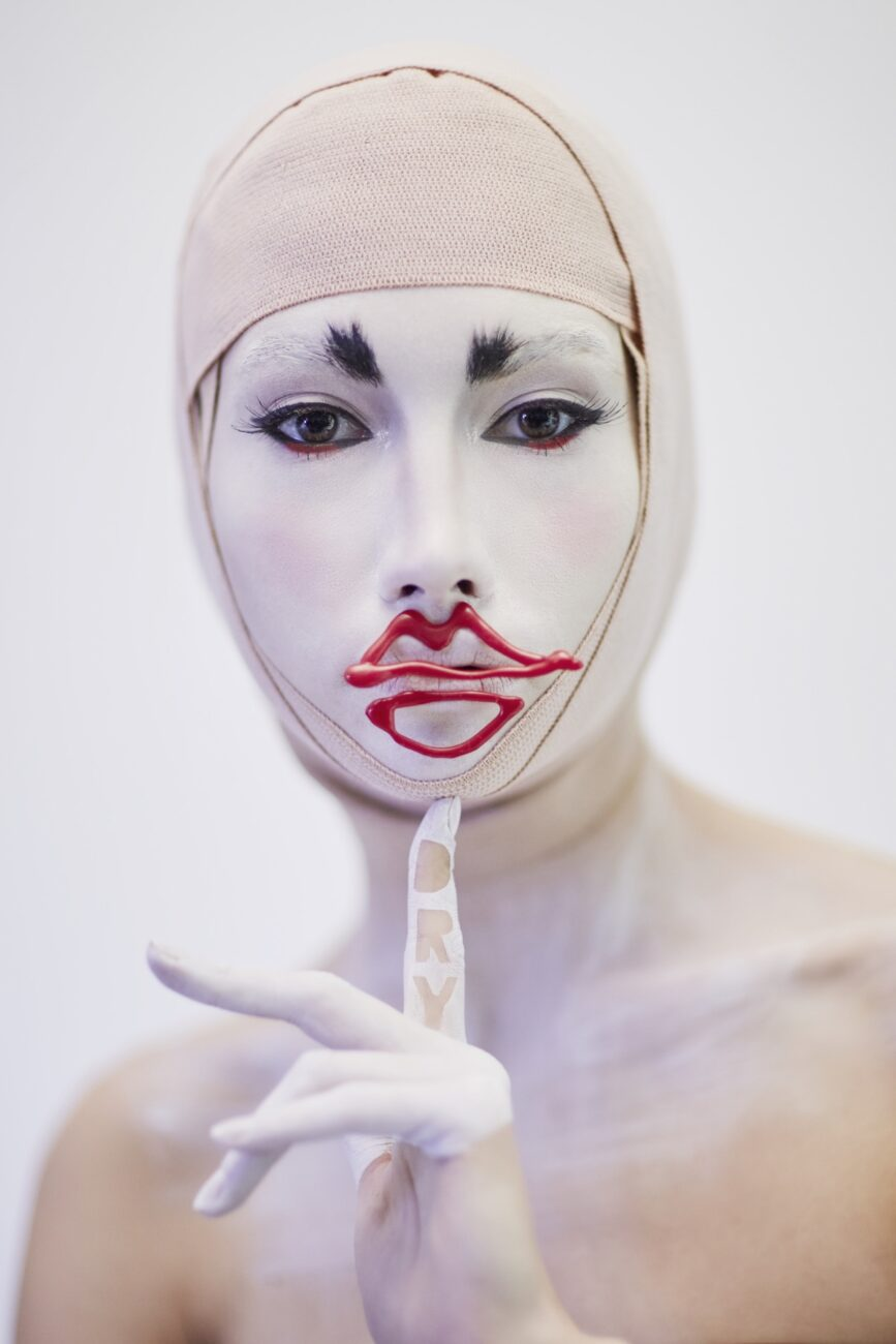 Collectible DRY and Pro*Lab makeup contest. Third prize. Makeup by FranceSca Zarabara.