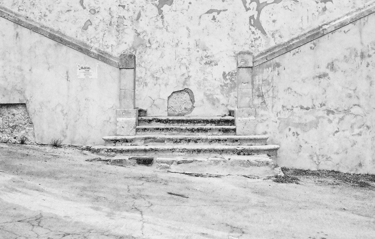 Old stair in Noto anticaph @Alessandro Benetti
