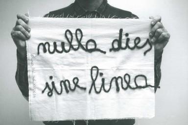 Nulla Dies Sine Linea, Antonio Marras, La Triennale di Milano