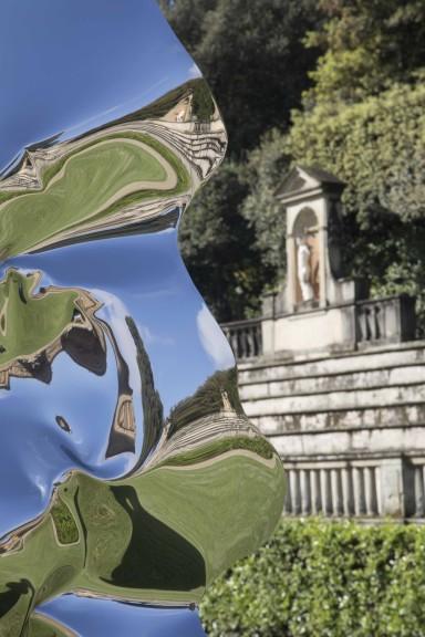 Helidon Xhixha at Uffizi Gallery, Boboli Gardens in Florence, Summer 2017
