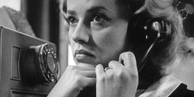 Jeanne Moreau. L'Ascenseur pour l'Echafaud. Directed by Louis Malle. 1957