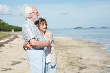 Donald Sutherland and Hellen Mirren in The Leisure Seeker, Venezia Film Review
