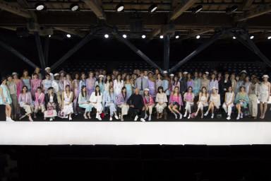 Emporio Armani Show and Models