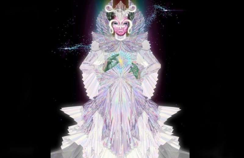 Bjork - The Gate with Gucci's dress