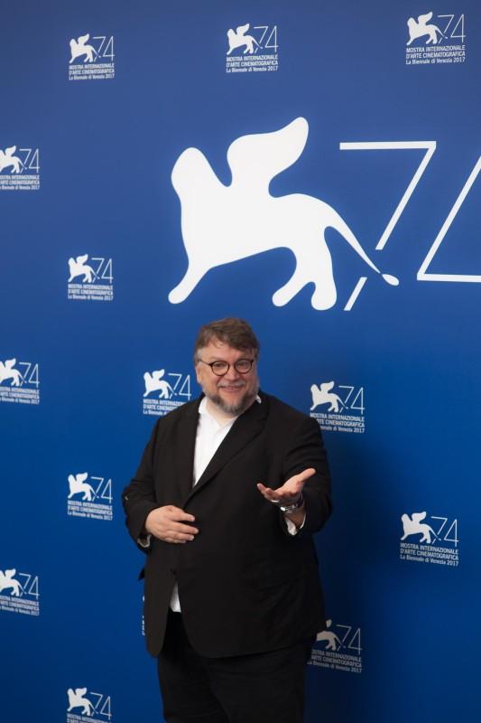 Guillermo del Toro, © daniela katia lefosse photography. mostra del cinema di venezia 2017 red carpet day2