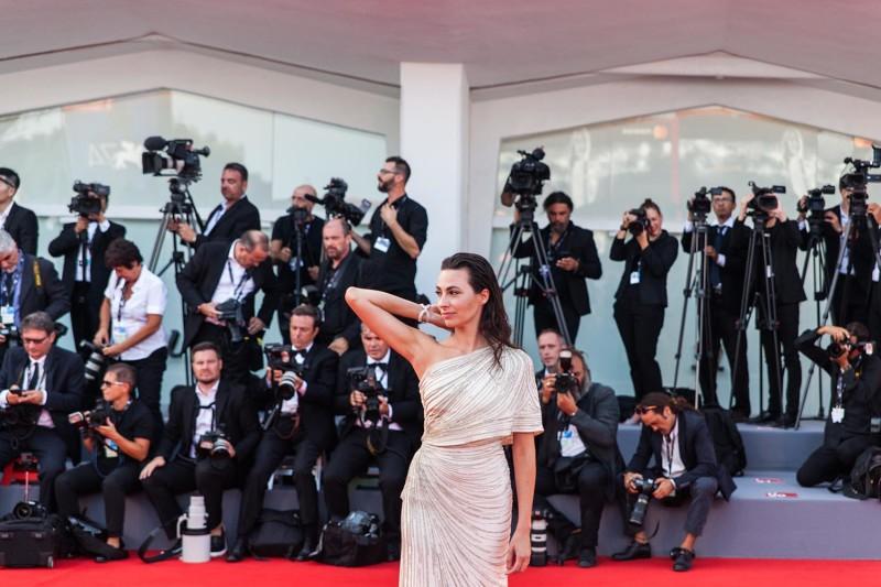Daniela Virgillo, © daniela katia lefosse photography. mostra del cinema di venezia 2017 red carpet