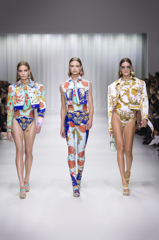 Versace Spring summer 2018 tribute collection