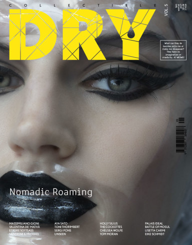 COLLECTIBLE DRY COVER ISSUE 5, SHOOT BY SANDRINE & MICHAEL FASHION SAYURI BLOOM, NOMADIC ROAMING ISSUE