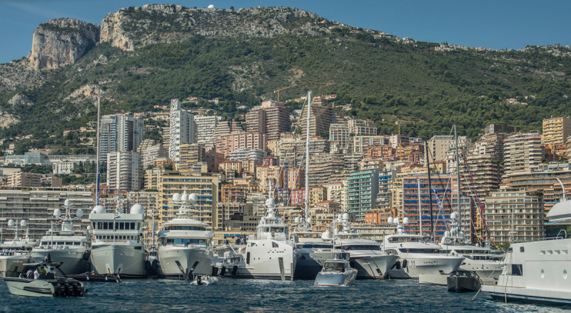 Monaco Yacht Show 17 collectible DRY. ph. Ann Casarin