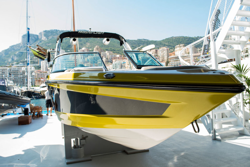 Suri Yacht and its toys, Monaco Yacht Show '17. Collectible DRY.