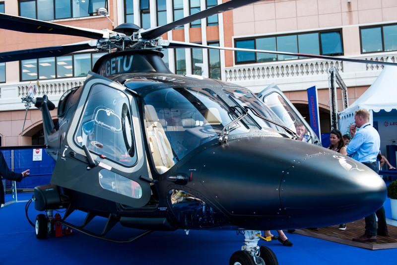 Leonardo Helicopter, MYS '17. Ph. Ann Casarin Collectible DRY