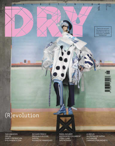 COLLECTIBLE DRY COVER ISSUE 6, SHOOT BY VALENTINA DE MATHA FASHION LEONARDO PERSICO, REVOLUTION