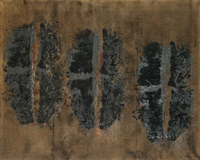 Toti Scialoja Impronte Nere (Black Marks), 1960 Courtesy Fondazione Prada