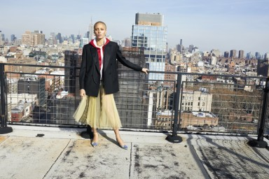 Adwoa Aboah photographed by Juergen Teller for Burberry c Courtesy of Burberry Juergen Teller