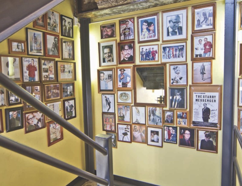 Moscot Wall of Fame