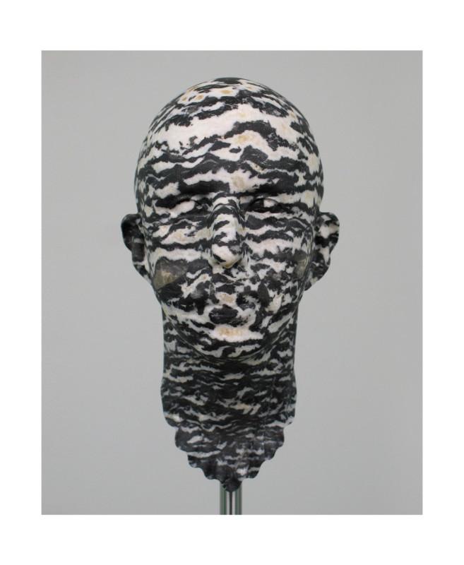 012.Barry X Ball, 2000-04, Utah marble