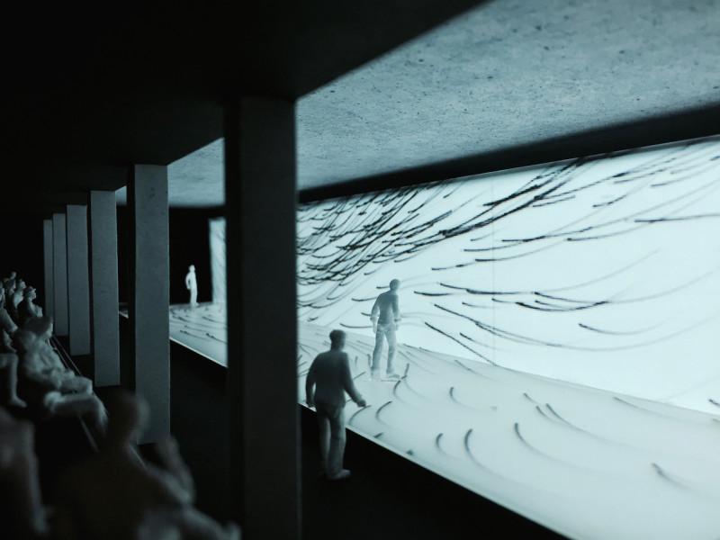 Audio Architecture_ 21_21_Design Sight_Tokyo_Design Process_Model Photo