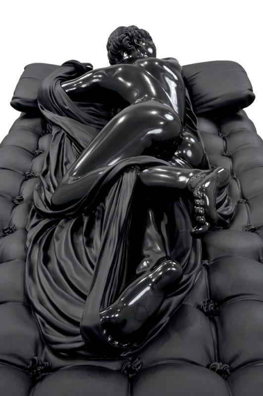 05b.BXB - Sleeping Hermaphrodite - Belgian Black Marble