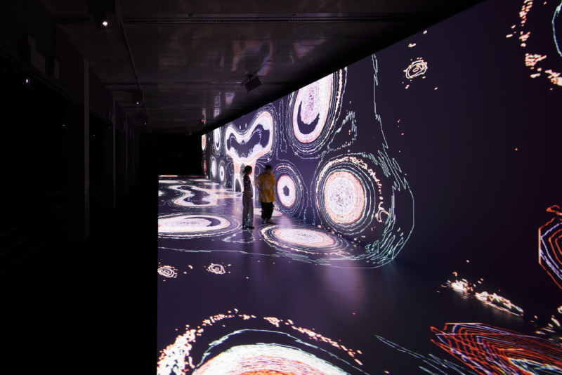 Audio Architecture_ 21_21_Design Sight_Tokyo_Kazumasa Teshigawara (Qubibi)_Music Worm