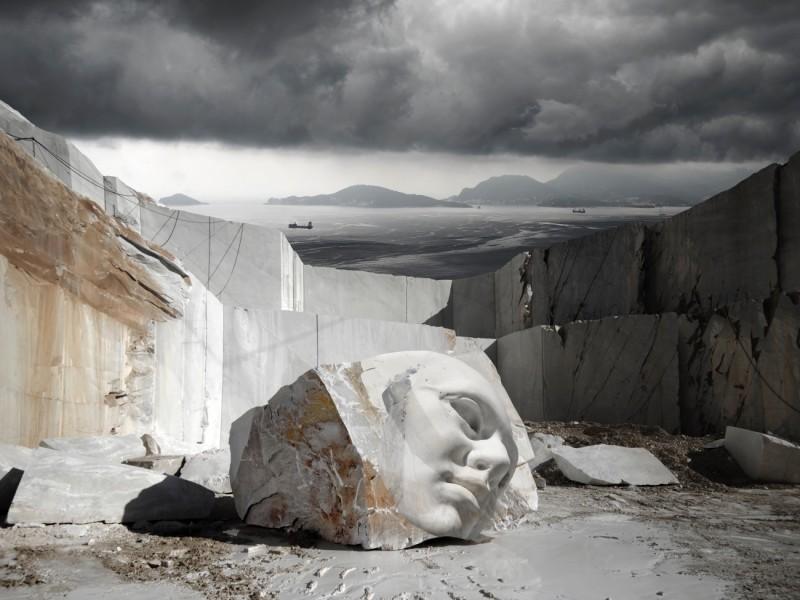 Materia Divina_Stanza del Vento_Montemarcello_Al centro della scena_Romana Zambon2
