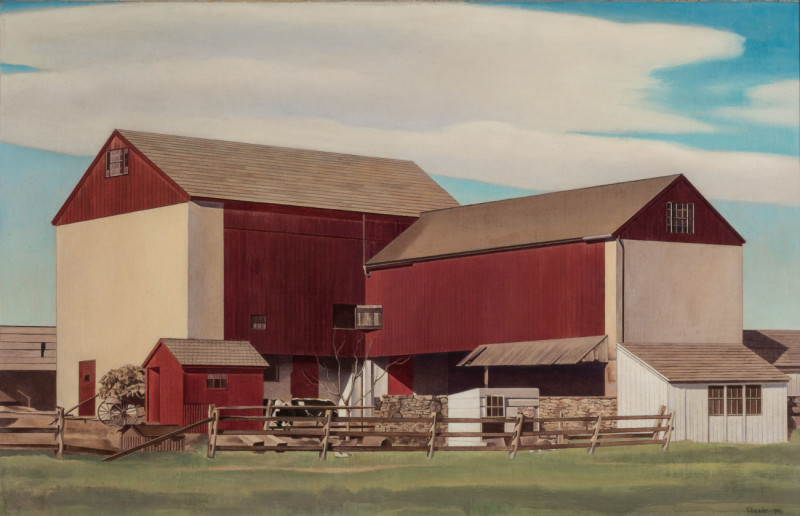 Buffalo Grain Elevators (c) Ralston Crawford Estate