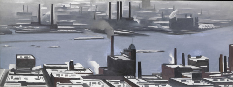 East River (c) 2017 Artists Rights Society (ARS), New York
