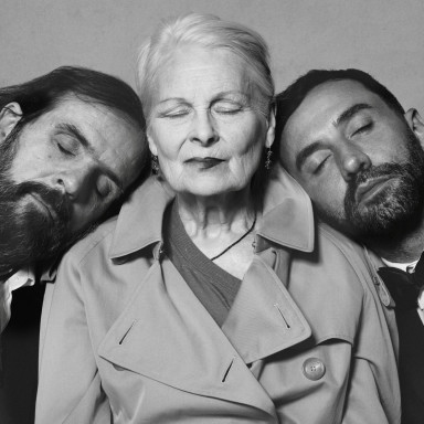 Portrait of Riccardo Tisci, Vivienne Westwood and Andreas Kronthaler c Courtesy of Burberry_ Brett Lloyd_001
