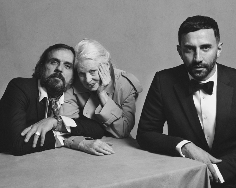 Portrait of Riccardo Tisci, Vivienne Westwood and Andreas Kronthaler c Courtesy of Burberry_ Brett Lloyd_002