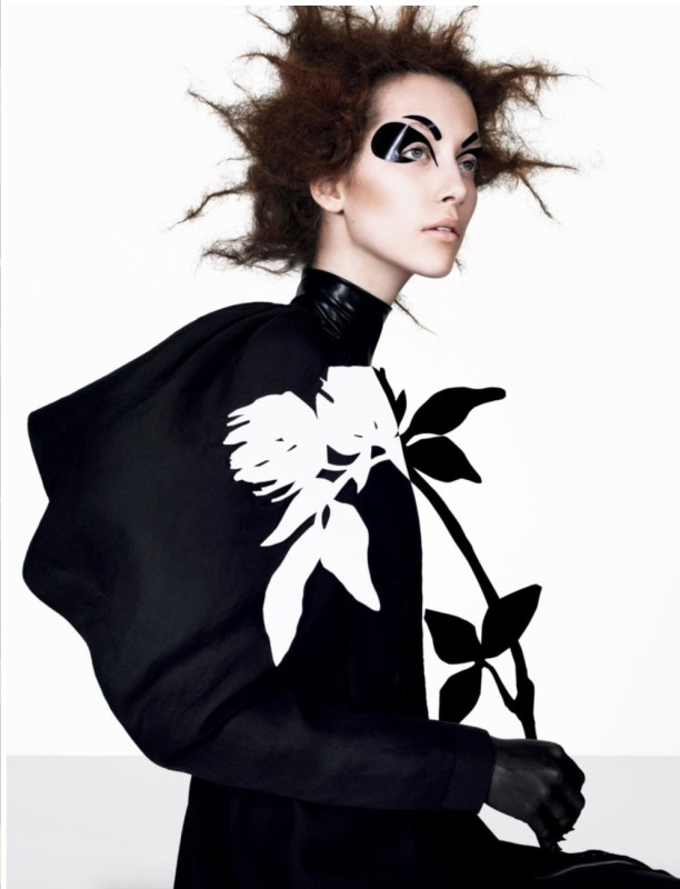 Richard Burbridge_Alana Zimmer for Italian Vogue_2007