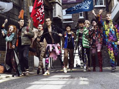 We are back, punk glam! Photography Domen / Van De Velde. Fashion Sayuri Bloom. All Gucci