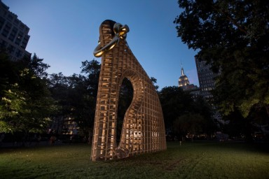 Martin Puryear_Matthew Marks Gallery_photo by Philip Greenberg_The New York Times