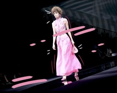 Milan Fashion Week_Giorgio Armani_SS19_LOOK MI_Francesco Vavallo_Nima Samiee