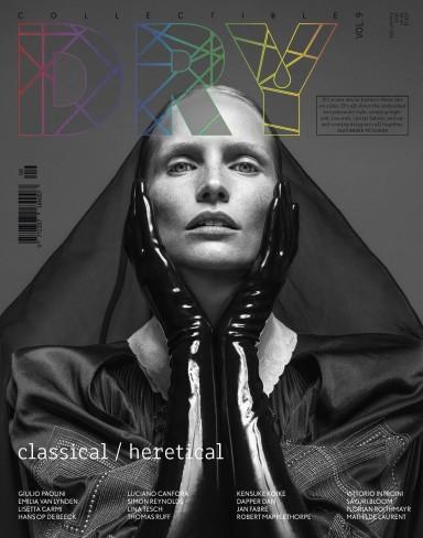 Cover Collectible dry IssueIssue #9 Photographer Lina Tesch, Fashion Sayuri Bloom, Glam Sigi Kumpfmuller, Girl Katrin Thormann in Fendi