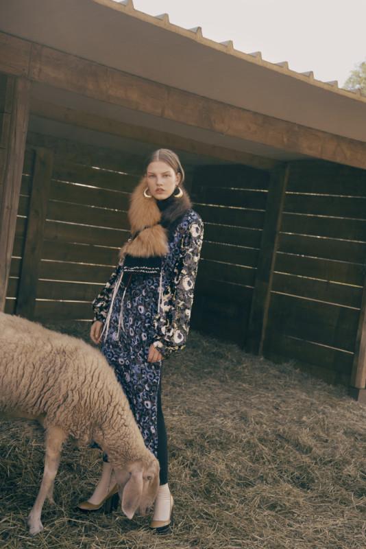 Photo Giulia Albertini Fashion Diletta Ariano. Marni